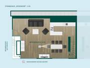 2. Obergeschoss Ferien-Strandhaus Rosendorf